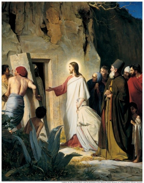 Graphic - The Raising of Lazarus